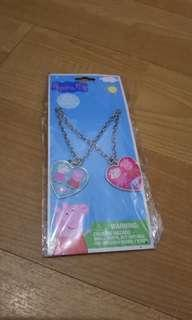Peppa Pig BFF necklace