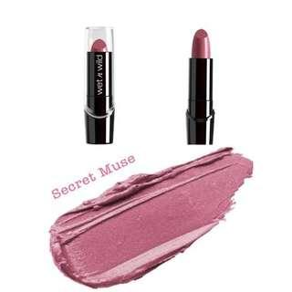 🚚 Wet n Wild Silk Finish Lipstick - Secret Muse