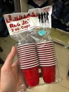 Mini Red Cups (24 pcs)