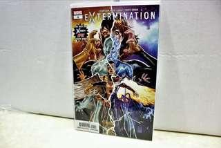 Signed Extermination #1 Marvel Comic