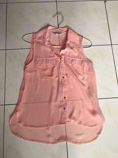 pink coral colorbox tank top shirt cute pastel