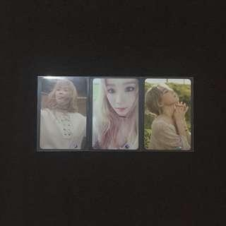 [SET] Taeyeon I Photocard