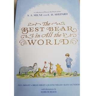 Winnie-the-Pooh book - The Best Bear in All the World