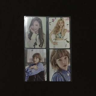[SET] Taeyeon SG Photocard