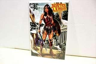 Signed Justice League #1 DC comic