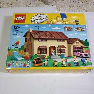 Lego 71006 Simpsons House Brand NEW