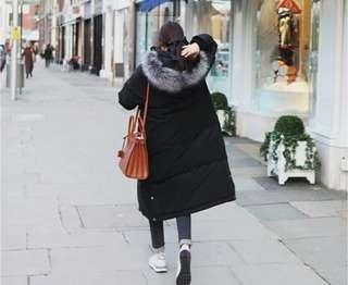 🚚 棉服女麵包服秋冬中長款韓版羽绒大衣女長過膝外套棉衣
