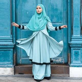 Kurung Erina Bynurhafizah (Pre loved)