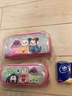 包順豐寄付Disney卡通筆袋2個