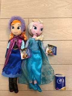 包順豐寄付迪士尼公主elsa and anna