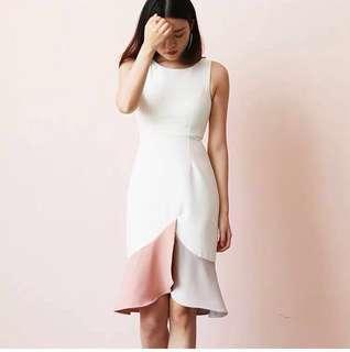 *CNY* Raelyn Colourblock Dress (2 weeks wait time)