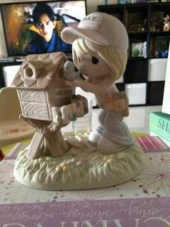 Precious Moments Figurine 2012 Using My Gifts Bring Happiness