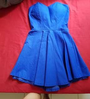 Mini Dress (Model Kemben No Tali) Petite Size
