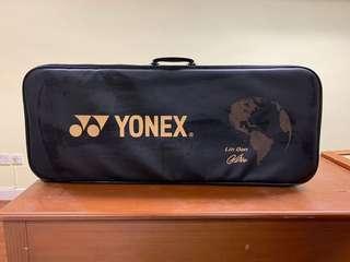 yonex badminton bag with Lin Dan 林丹簽名限量版