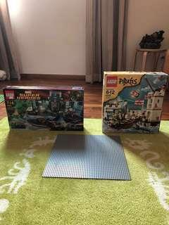 Lego Pirates and Super heroes
