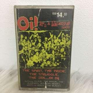 Kaset Cassette Oi ! It's Malaysian league