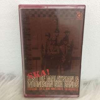 Kaset Cassette Ska best of Malaysian & Indon ska bands