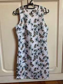 BN Pineapple Shift Dress