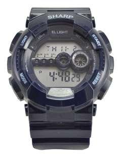 BNIB Navy Blue Digital Sports Watch (Sharp)
