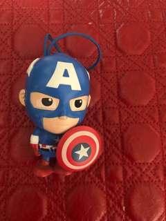 Captain America & Incredible Hulk Figurines