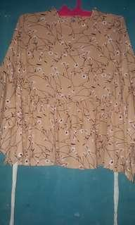 Blouse tangan kalong