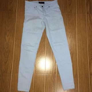 Pastel Blue Soft Jeans size 27