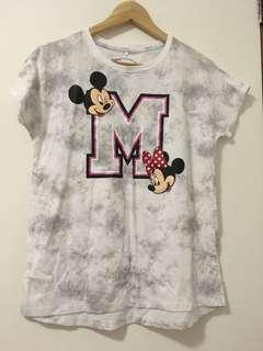 BNWT Mickey and Minnie Mouse Shirt