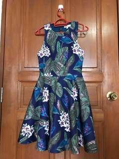 Love Bonito Blue Floral Dress