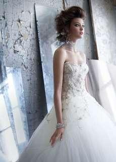 Lazaro Designer Wedding Dress美國設計師婚紗