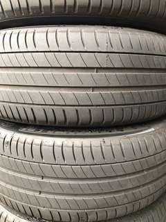 4 X Michelin Primacy 3 225/55/18 Tyres (60% Threads)
