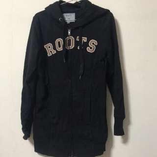 🚚 Roots 刷毛外套 可當長版T恤S