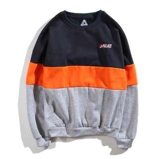 Palace Blazed Crewneck Sweater Shirt