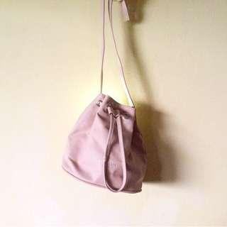 Blush Bucket Bag