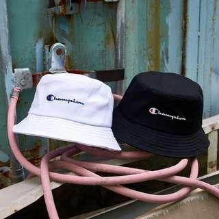 027bd91b79e (2col) authentic champion bucket hat unisex sports cap