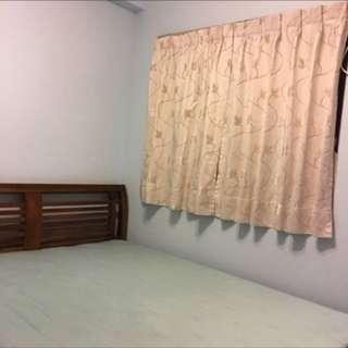 🚚 優雅窗簾 一組   近9成新。綁帶有磨損喔!面交郵寄皆可(需運費)
