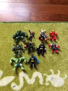 Marvel and DC Super Heroes
