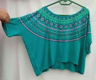 Tribal batwing