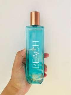 Bath and Body Works Body Mist at the BEACH