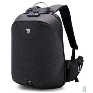 Large Capacity Overnight Shoulder Backpack with Anti-Theft Function Black