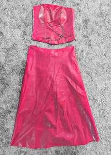 Customized Pink Gown