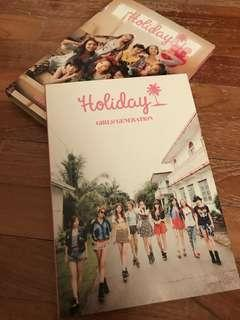 SNSD 'HOLIDAY' PHOTOBOOK