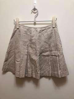 🚚 KLEIN PLUS+ 米色百褶裙(百元商品 仼意搭配 買3送1)