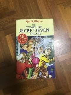 The Secret Seven by Enid Blyton FULL SET 16 BOOKS
