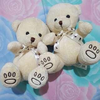 Boneka teddy bear white