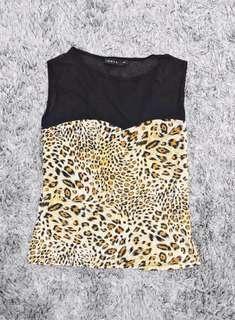 Ishta Leopard Print Top