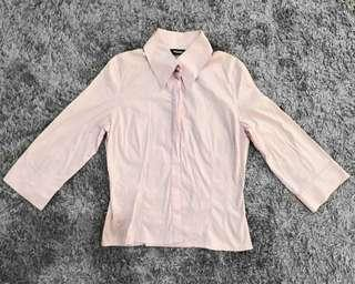 Sinéquanone Pink Collared Top