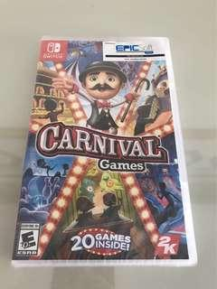 Nintendo switch game- Carnival (new version)