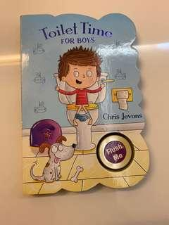 Toilet time for boys