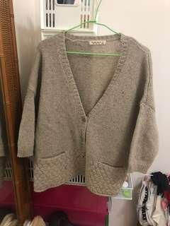 🚚 羊毛針織外套 開衫