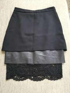 Zara layer skirt Preloved